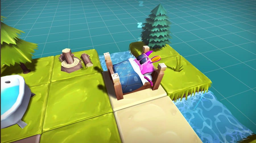 Nestables 3D Cube. Breed and collect ERC-1155 in-game characters