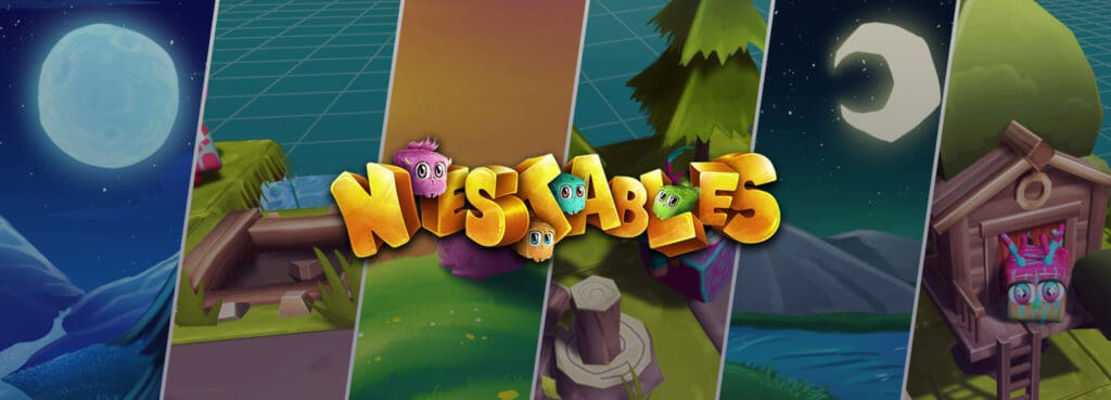Nestables blockchain game