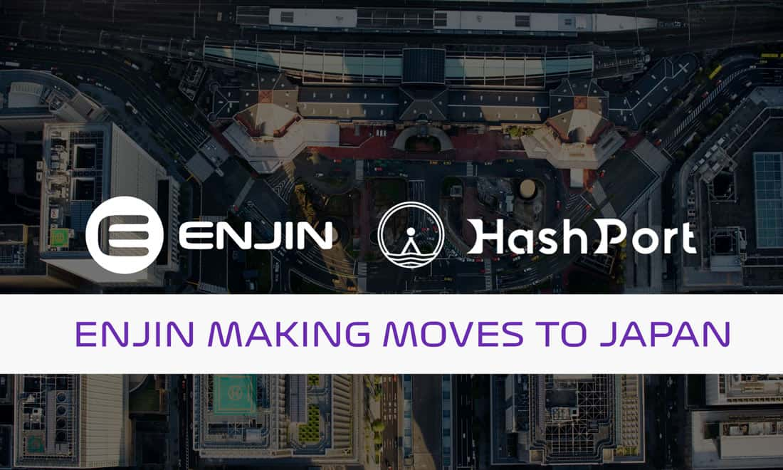 Enjin Expands in Japan with HashPort Partnership