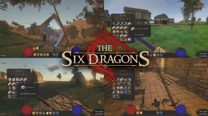 the six dragons alpha release