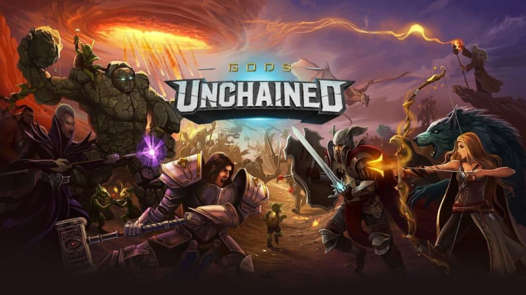 Gods Unchained TCG Blockchain Game