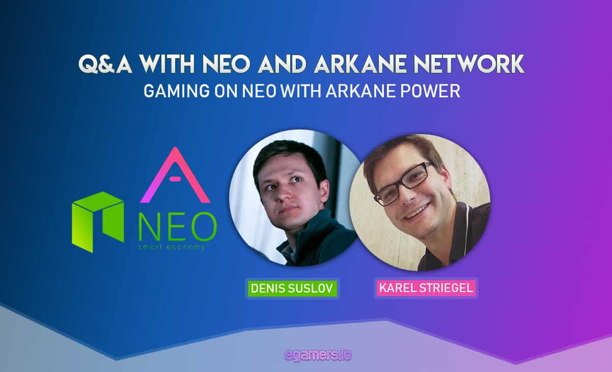 QA with NEO and Arkane Network