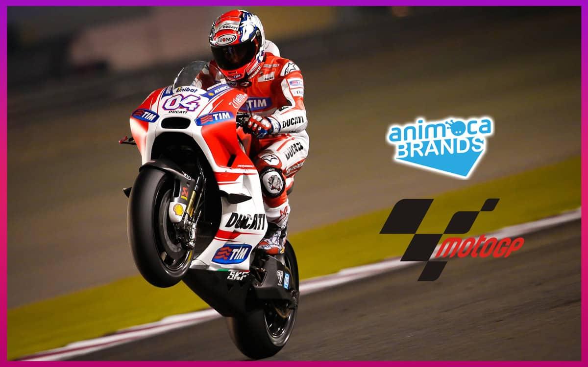 Animoca Brands Official MOTO GP crypto game