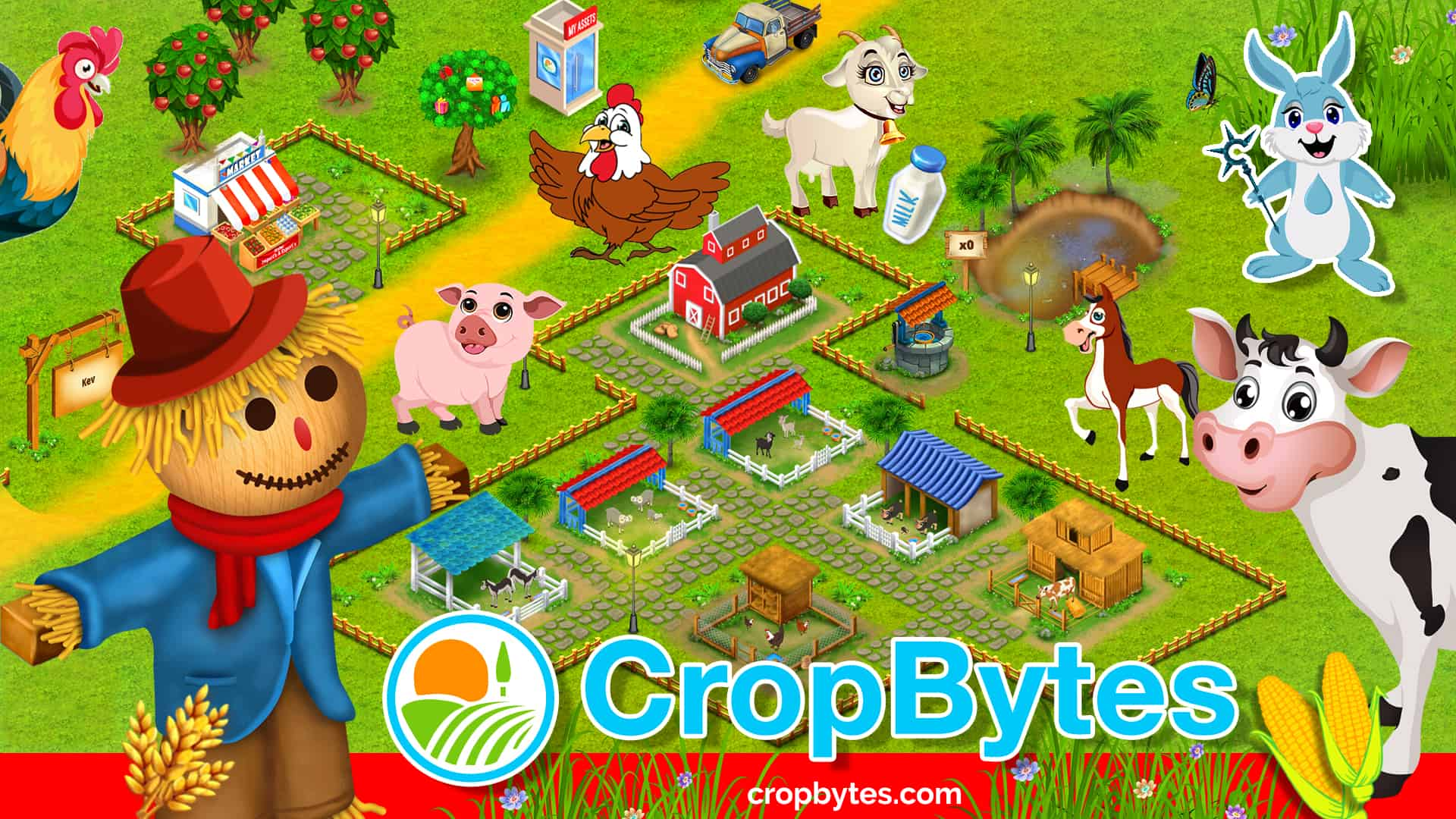 Cropbytes farm game