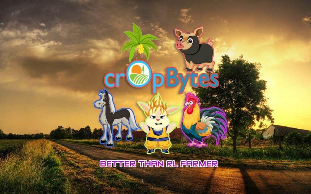 cropbytes tron blockchain game farming