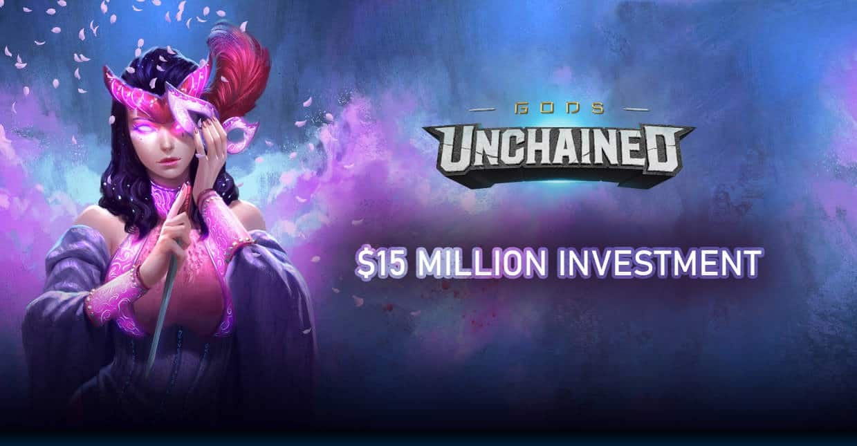 Gods Unchained Raises 15$ Million dollars