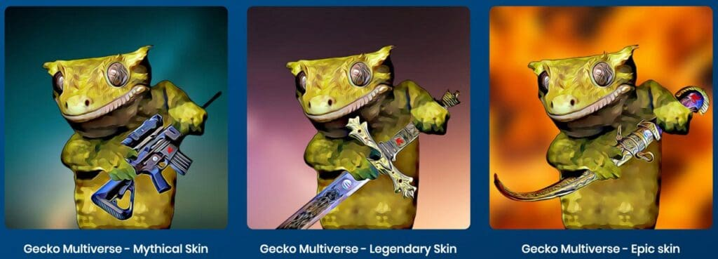 Gecko skins