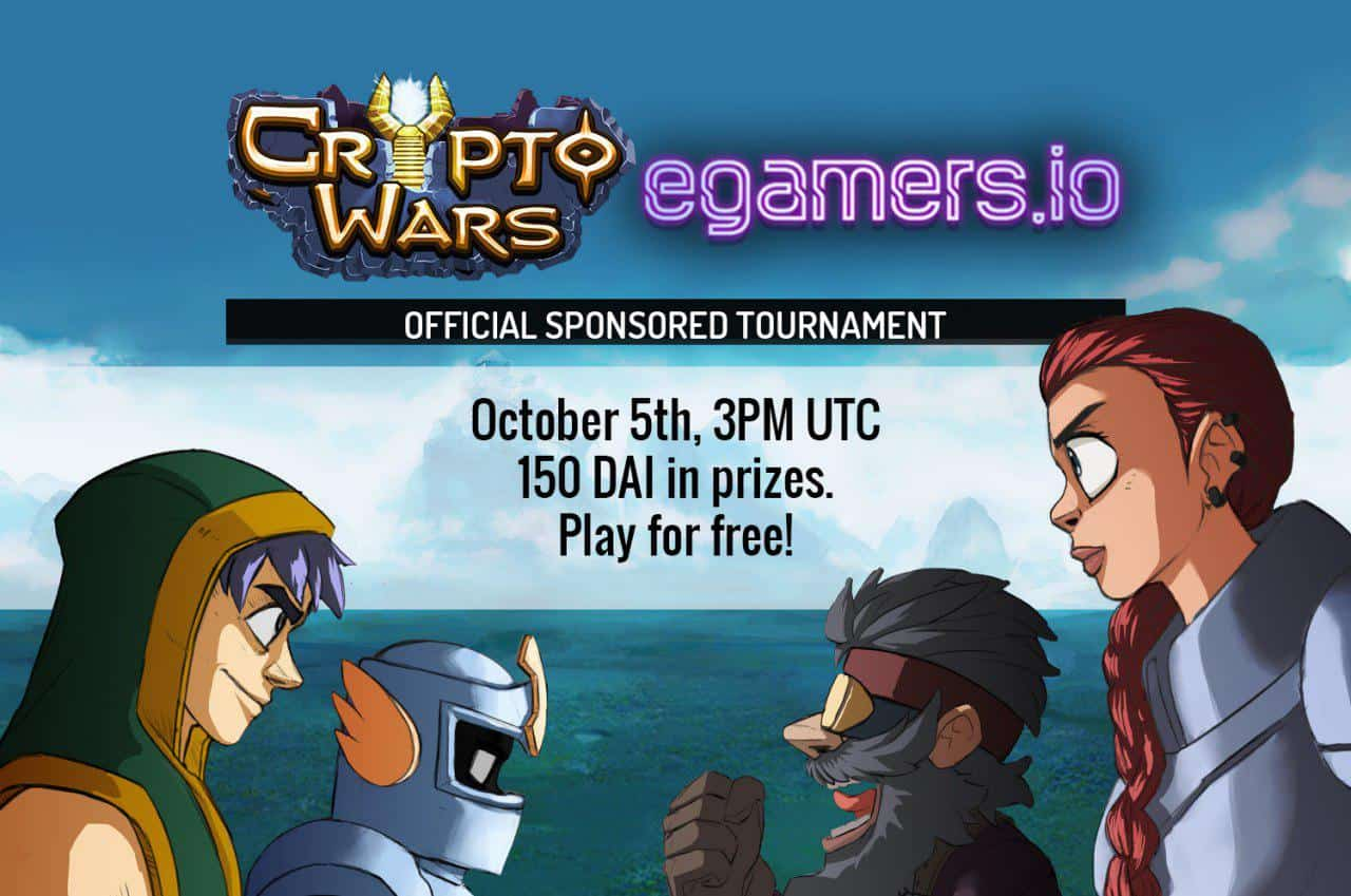Cryptowars egamers tournament