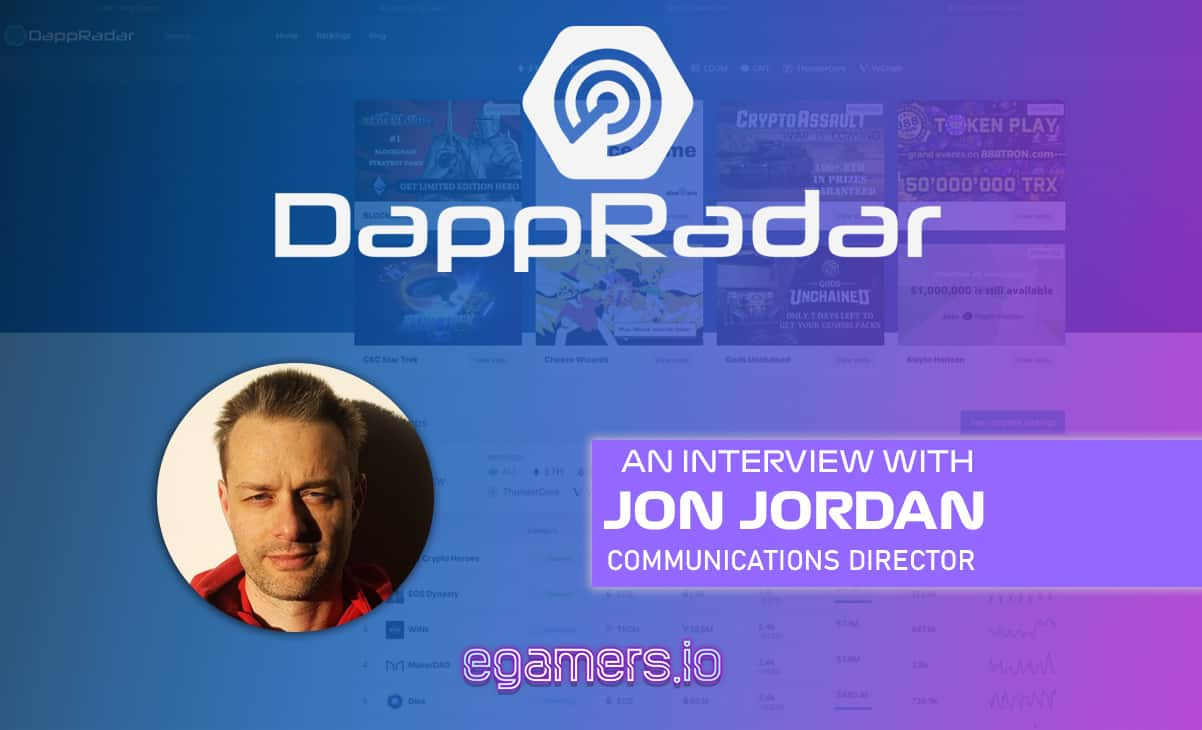 Inside DappRaddar - Interview With Jon Jordan