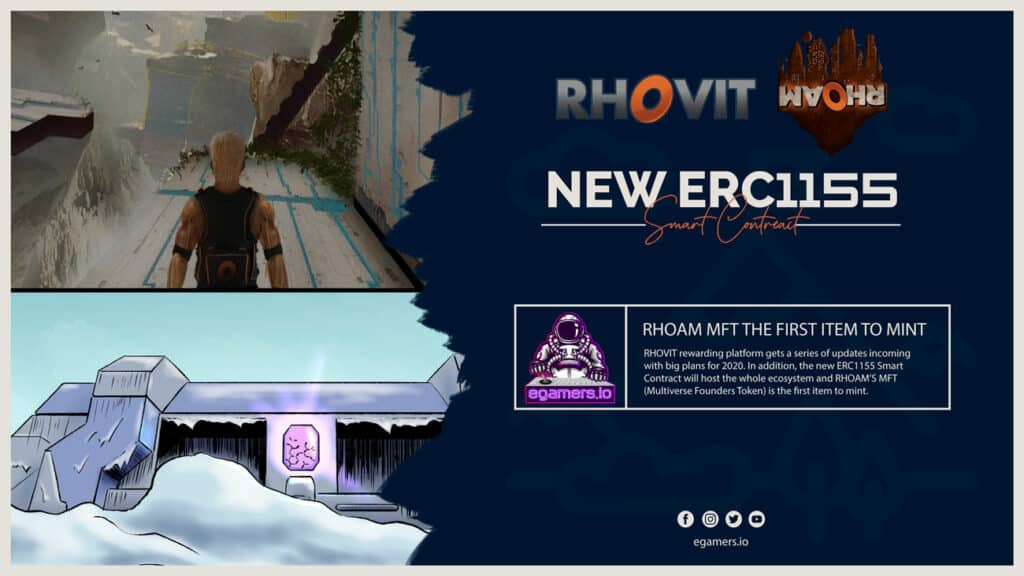 rhovit erc1155 smart contract rhoam game