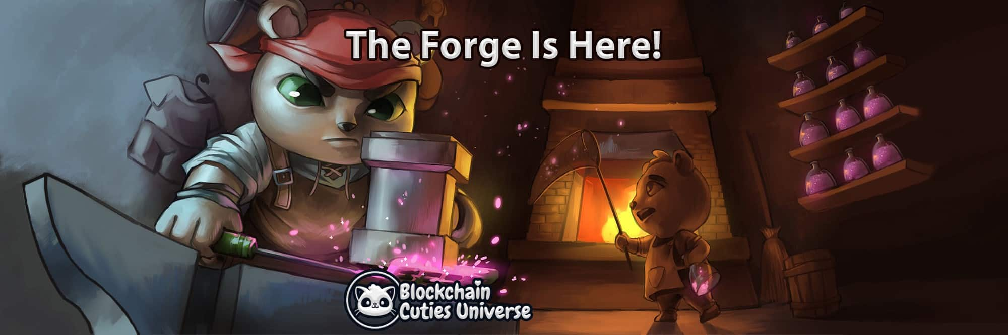 Blockchain Cuties The Forge Update