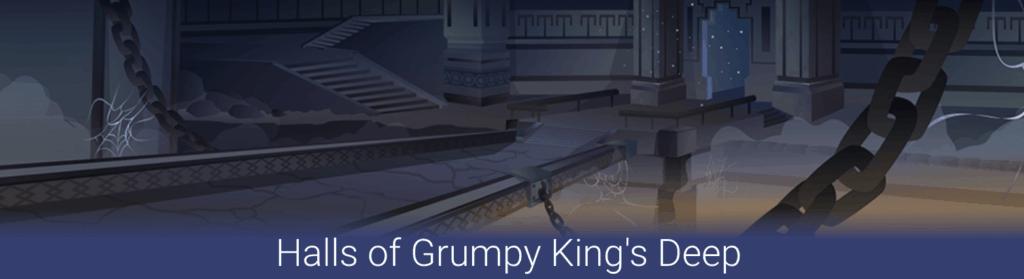 halls of grumpy kings deep blockchain cuties