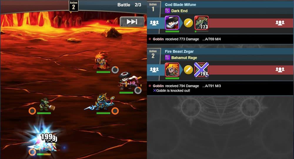 brave frontier heroes gameplay