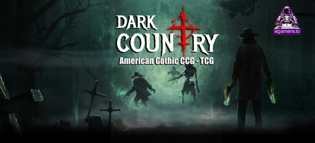 Dark Country american gothic tcg ccg blockchain game