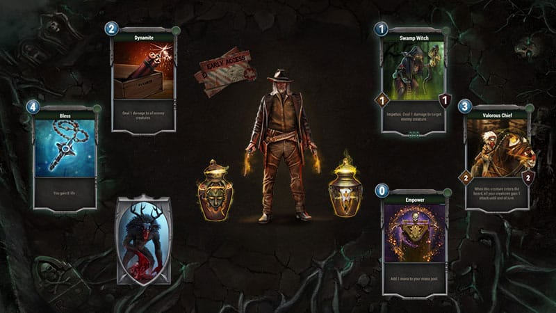 dark country game co creation platform blockchain tcg ccg game