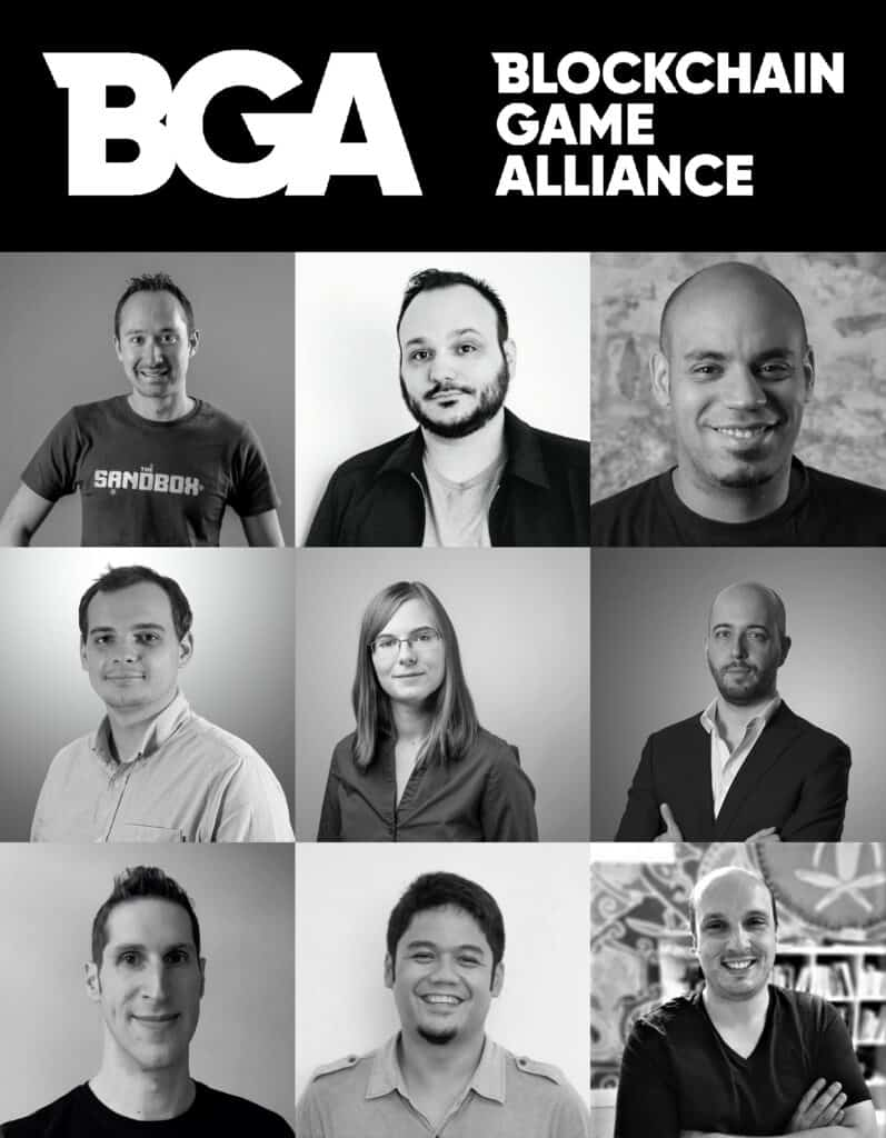 Blockchain Game Alliance Members picture