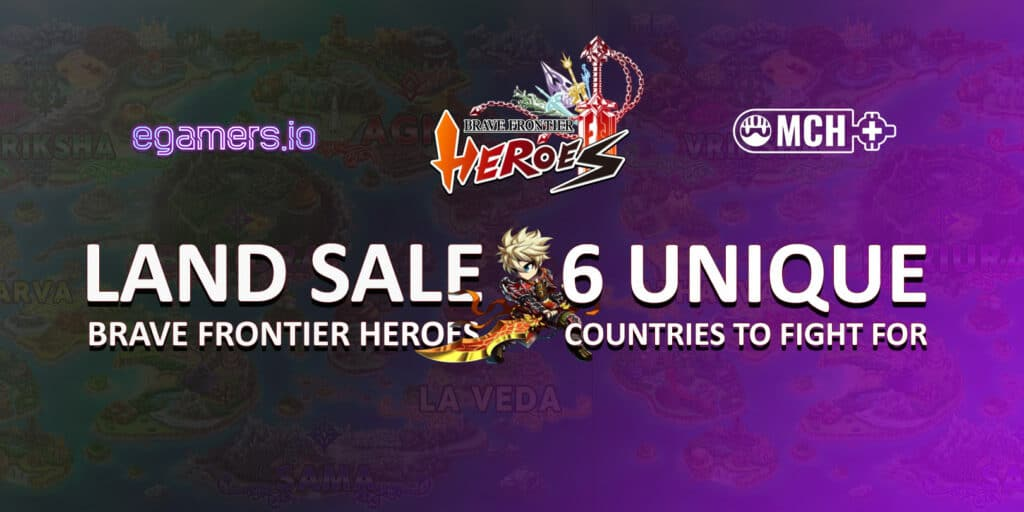 Brave Frontier Heroes Land Sale