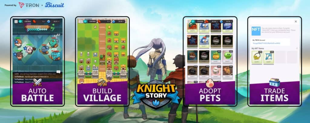 Knight story teams up with tron