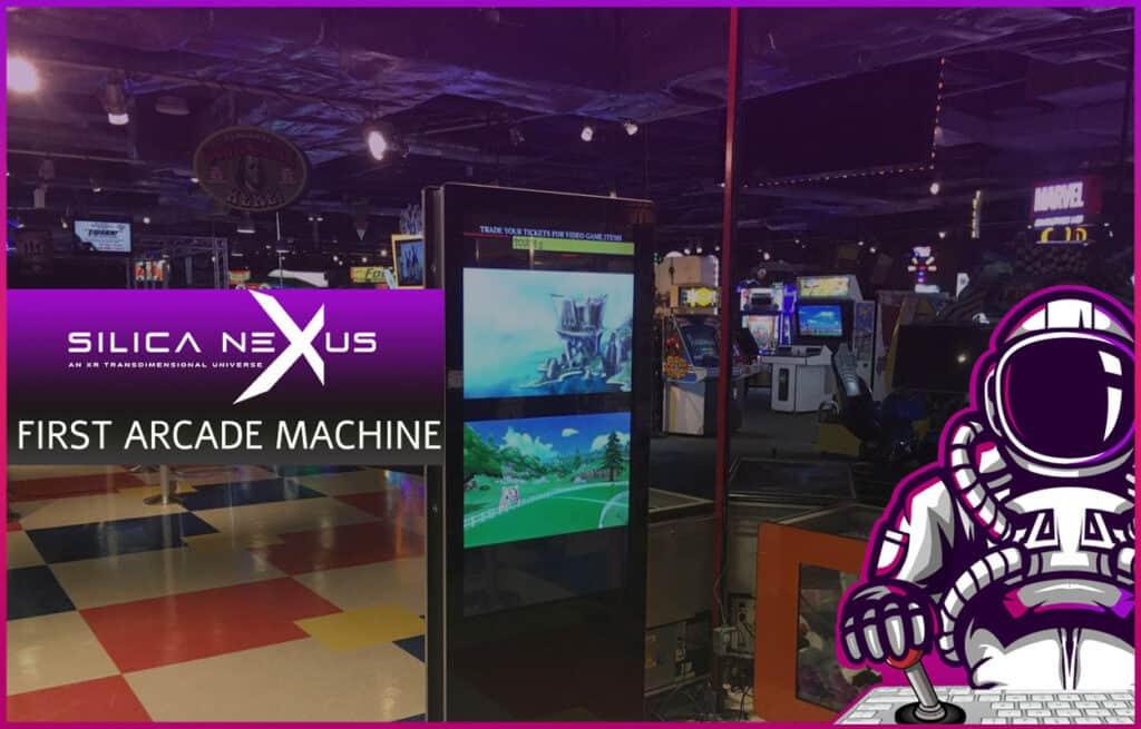 Silica Nexus first arcade machine in FunFuzion