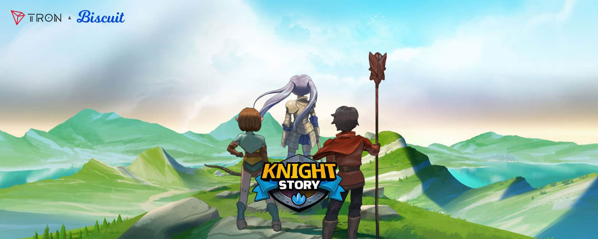 Knight Story partnership with TRON