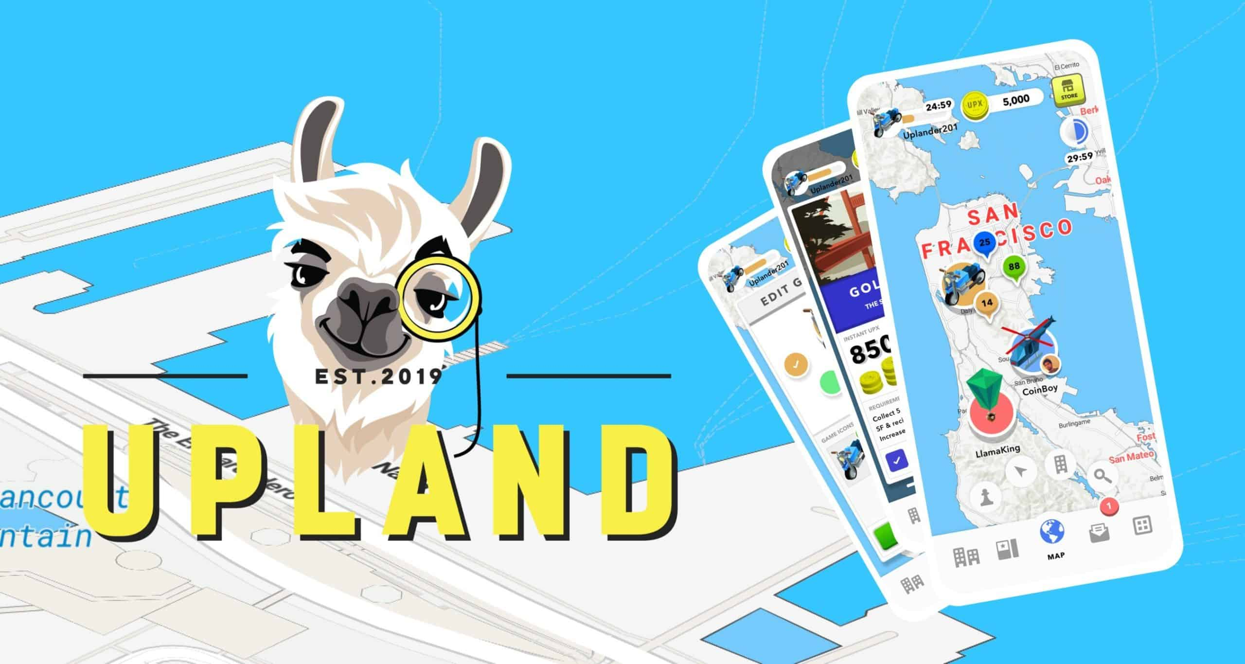 Upland virtual property blockchain game