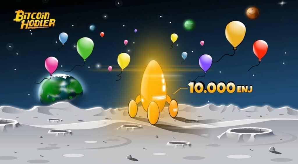 BitcoinHodler BallonTreasureHunt