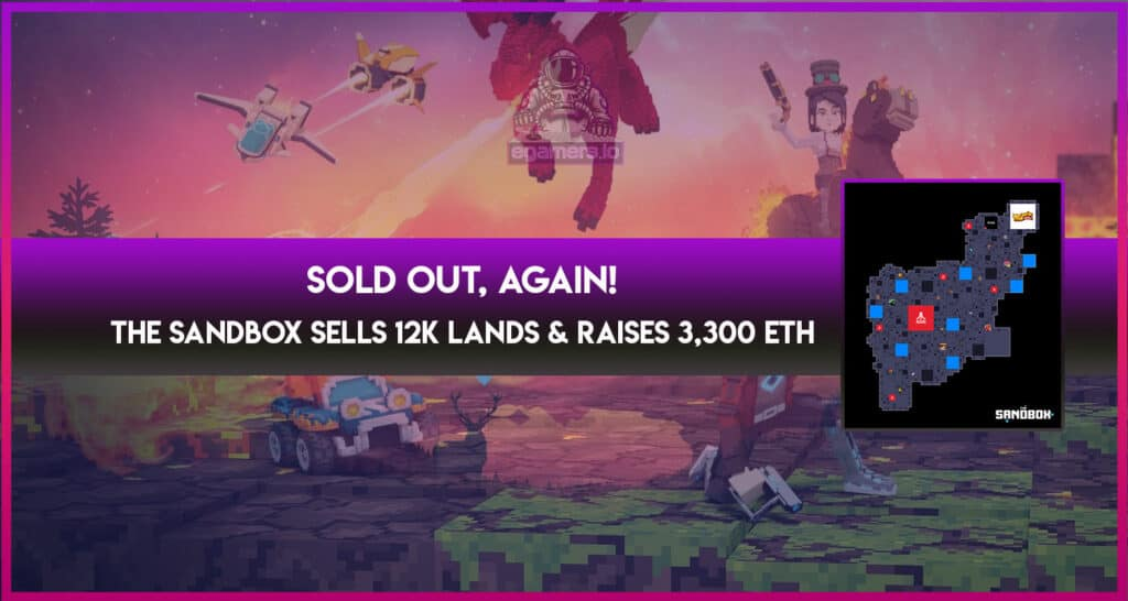 The Sandbox Thirs Sold-Out Sale