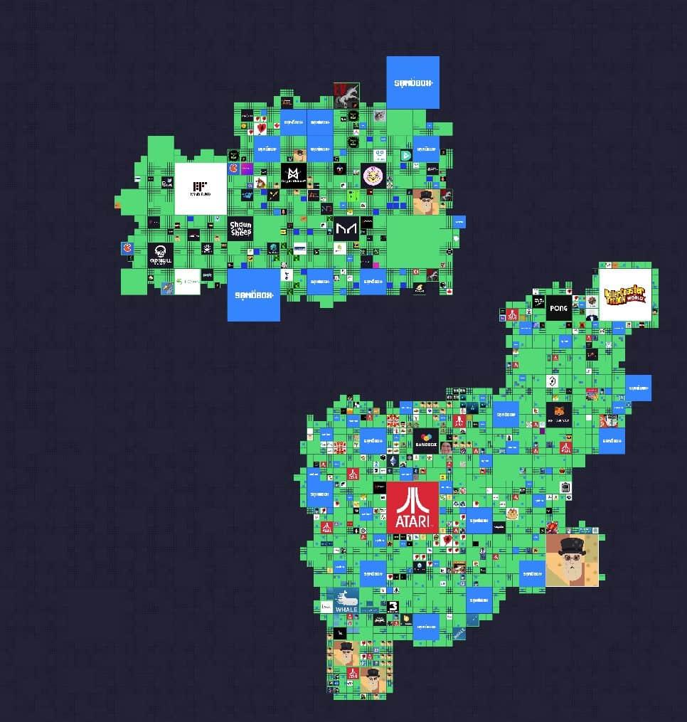 The Sandbox map after Atari sale