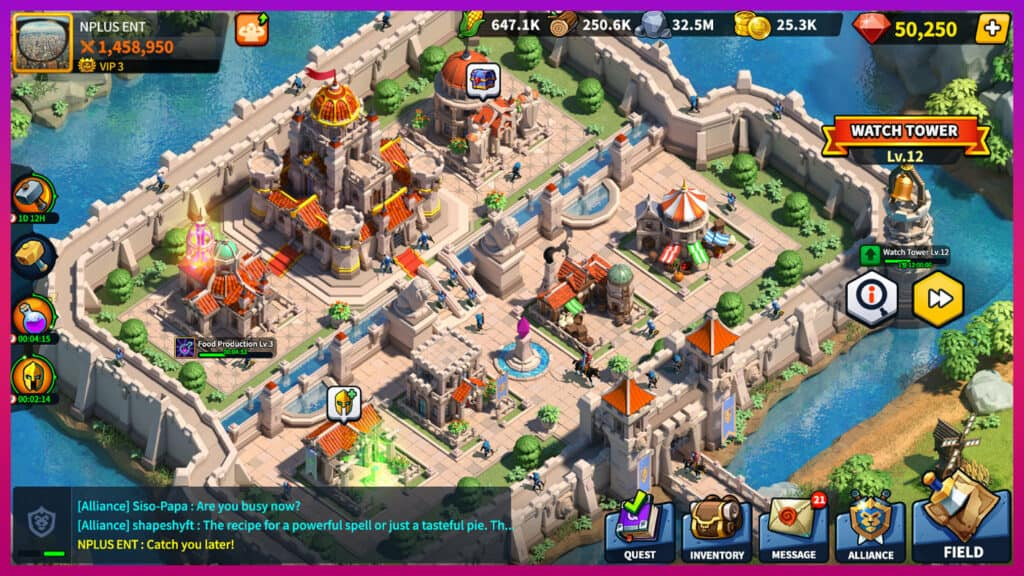 League of Kingdoms strategy game
