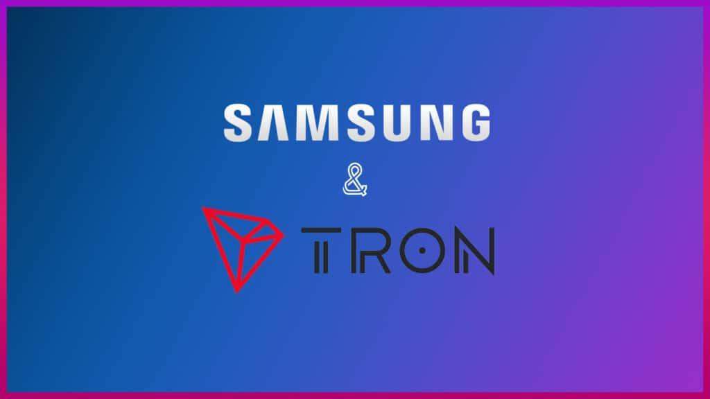 tron and samsung partnership