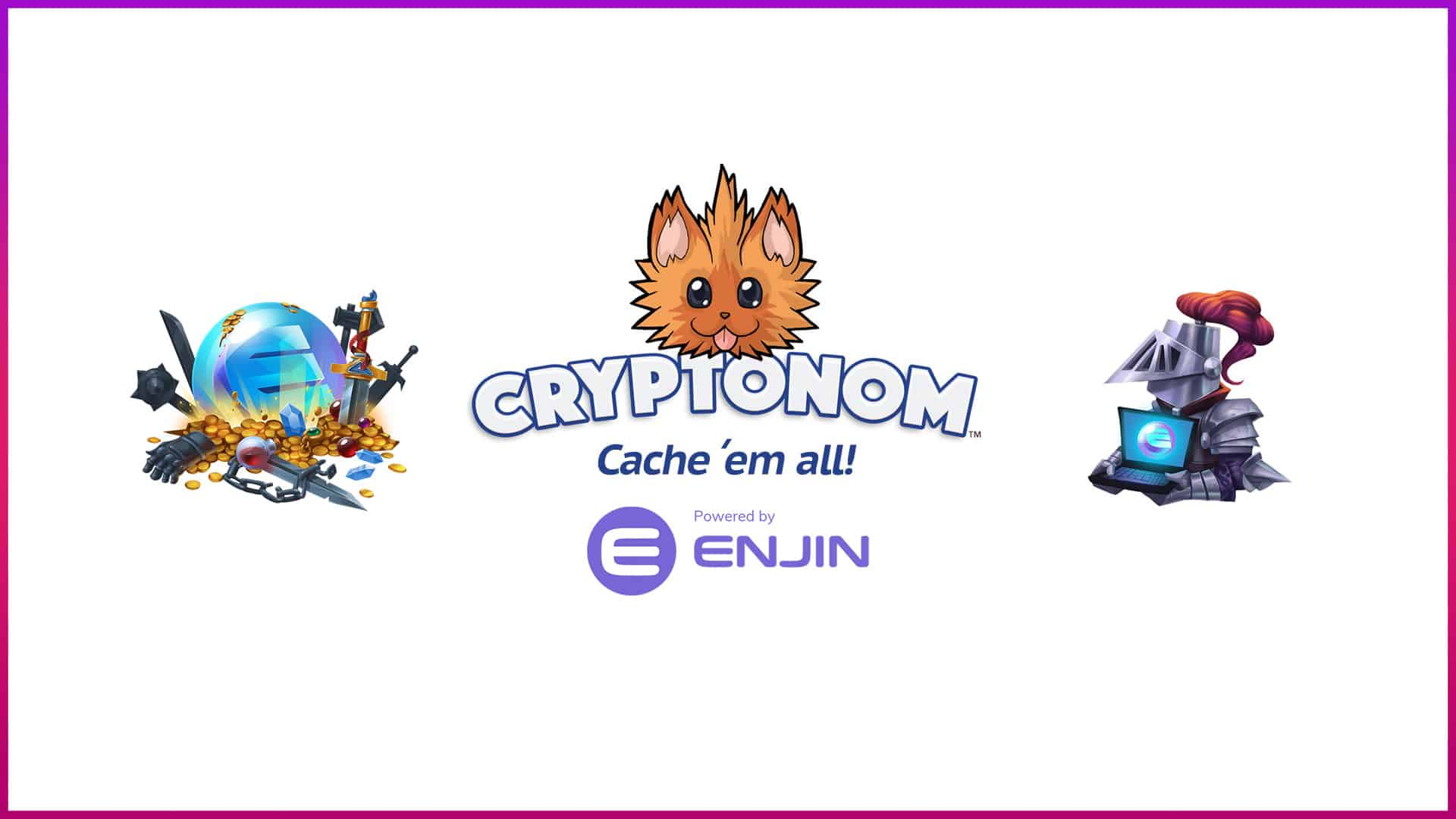 Cryptonom Game powered by Enjin
