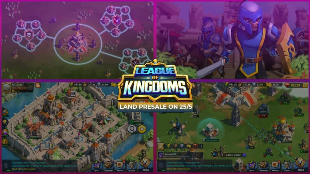League of Kingdoms Presale