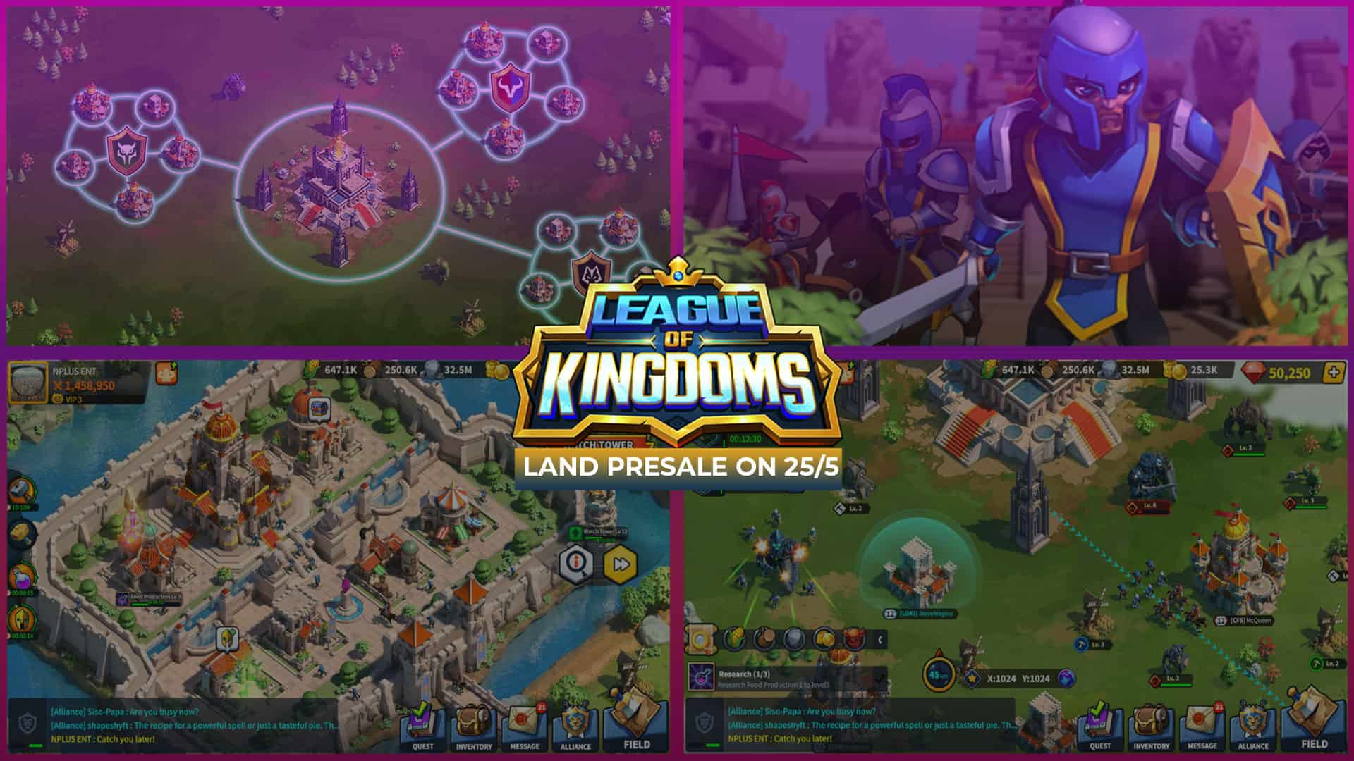 League of Kingdoms Presale