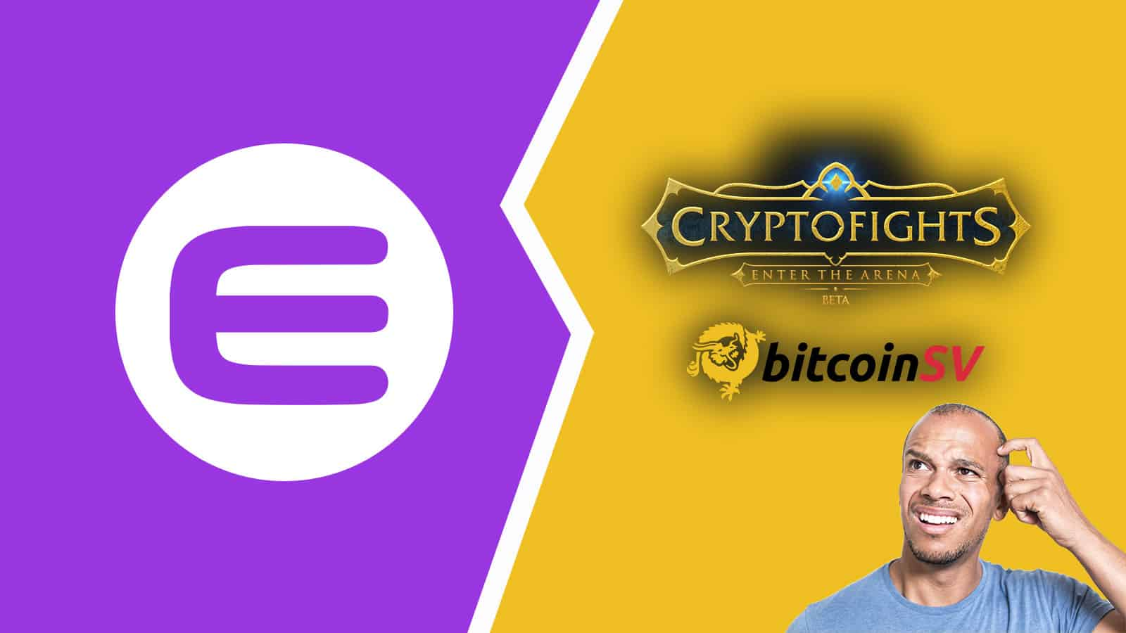 cryptofights leave enjin for bitcoin sv