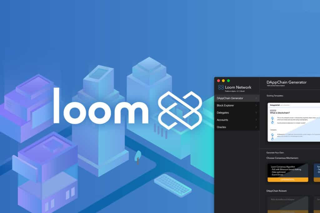 Loom network turns direction