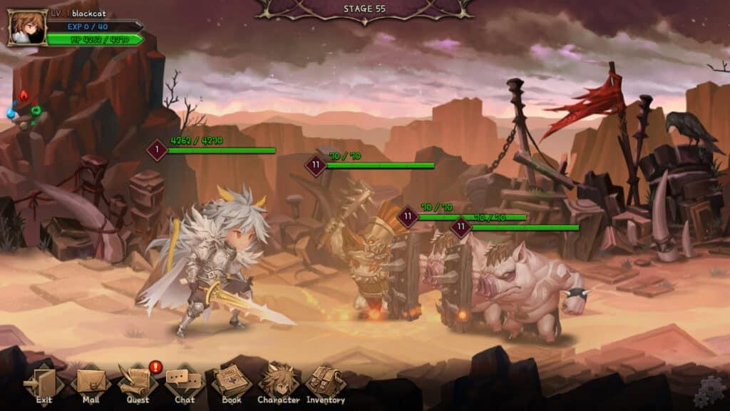 nine chronicles rpg game