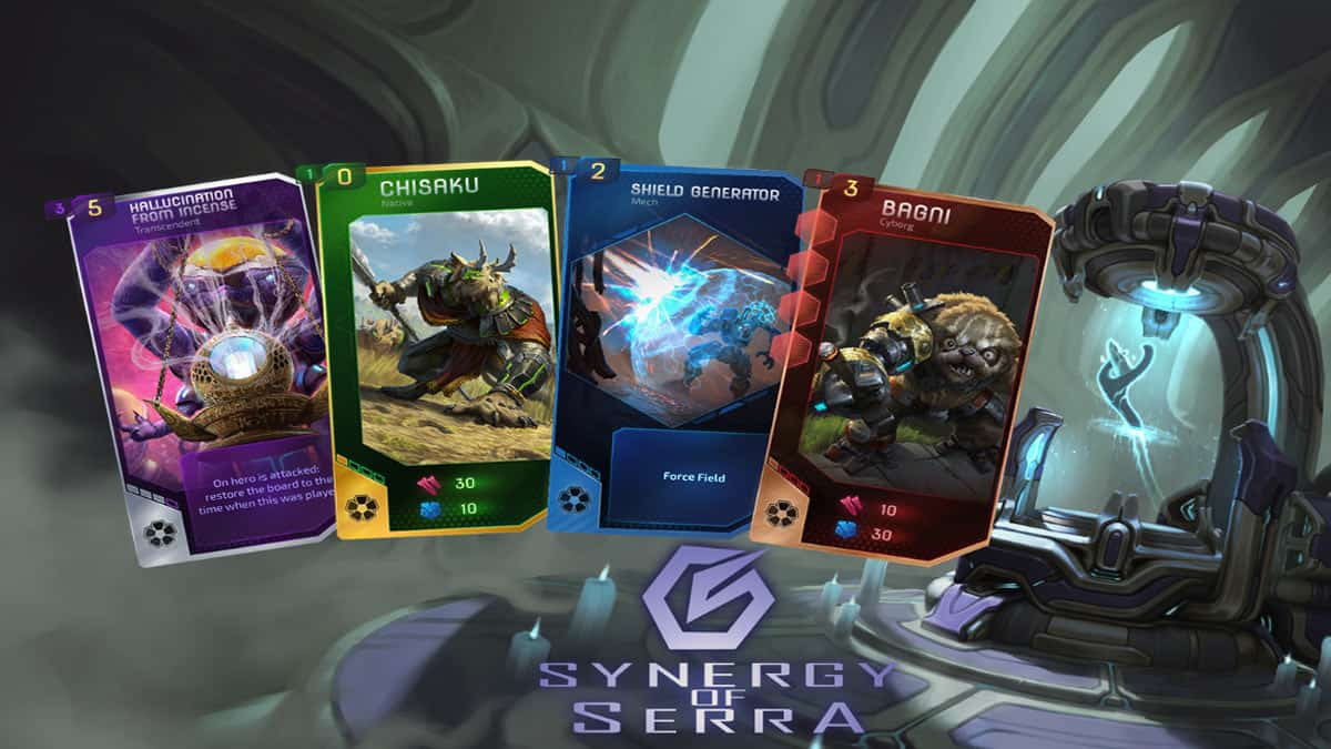 Synergy of Serra shapes a new game genre, merging classic Strategy Card Games with the infinite game experience possibilities of Deck-building Card Games. Join the six factions of biological and mechanical creatures in the defense of the planet Serra from an alien threat. Become the leading commander of Serra! It's a free-to-play game without annoying pay walls.