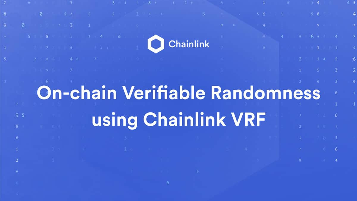 Chainlink tap into gaming with VRF (Verifiable Random Function)