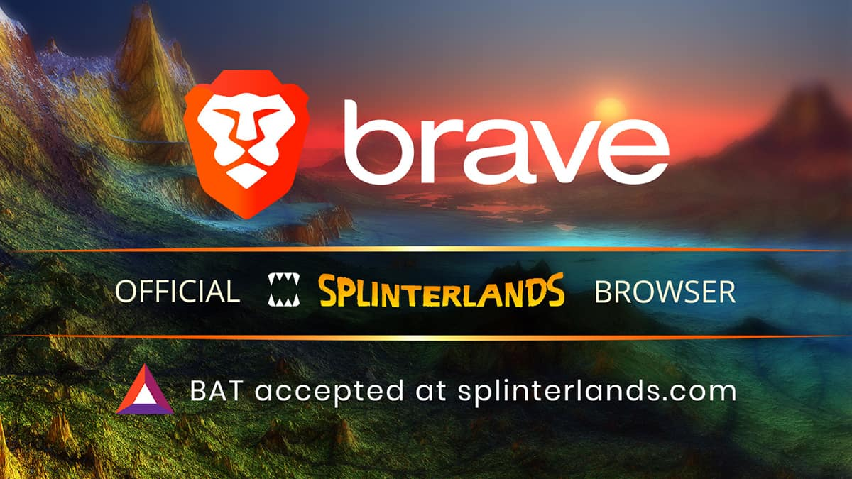 Splinterlands and Brave Browser