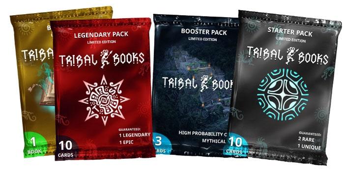Tribal Books card sale