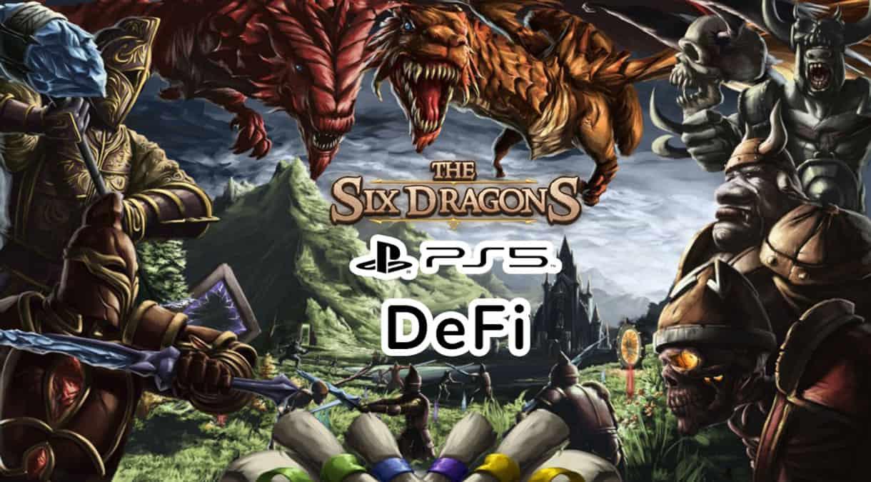 The Six Dragons PS5 DEFI NFT YIELD FARMING