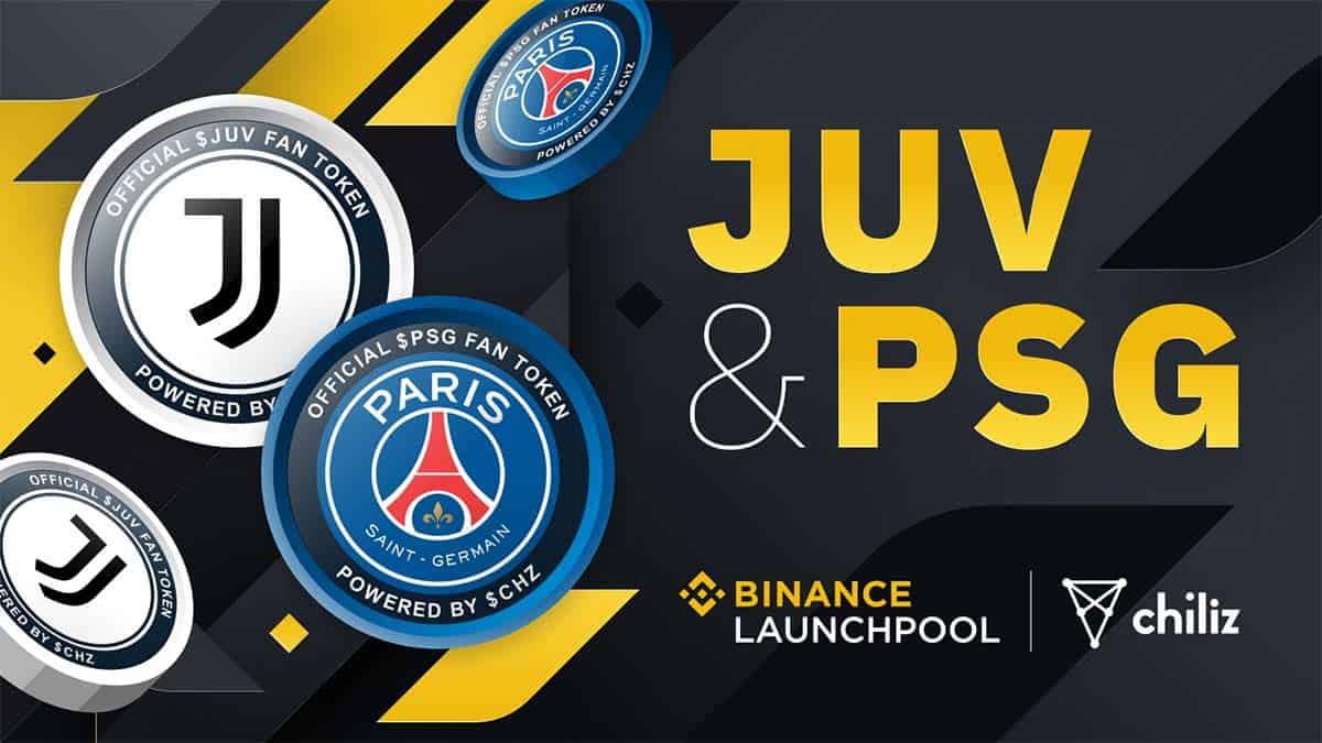Binance to Add Juventus And Pari Saint-Germain Tokens by Chiliz