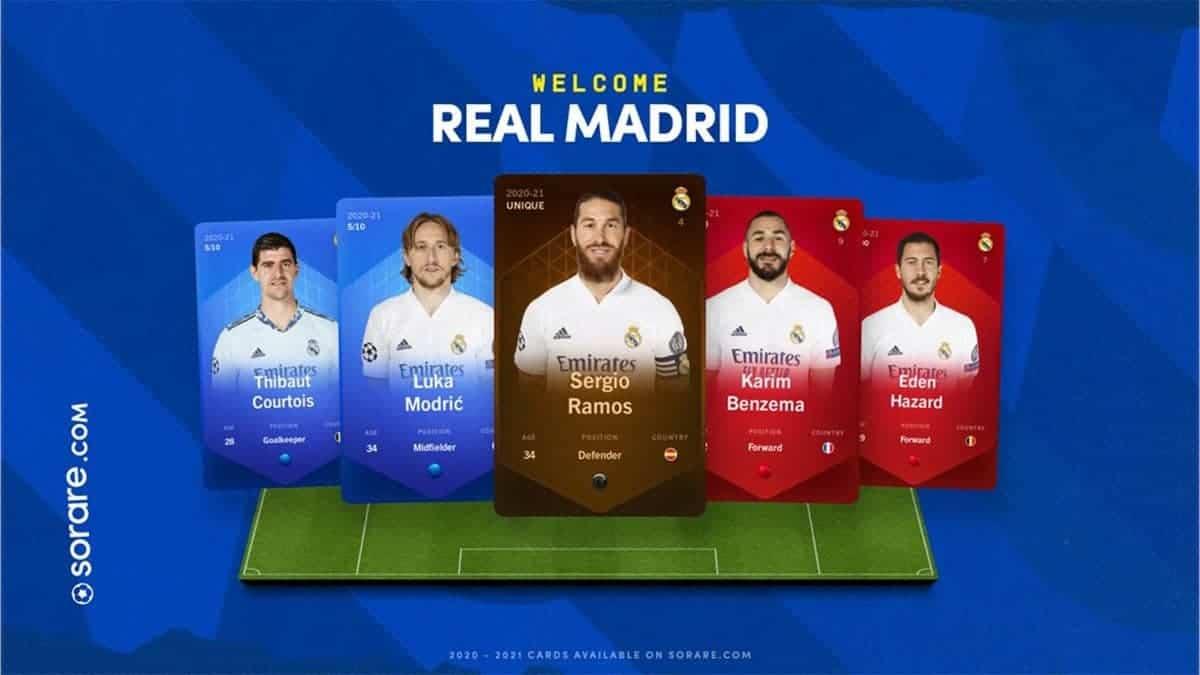 Real Madrid Joins Sorare Fantasy Football Blockchain Game