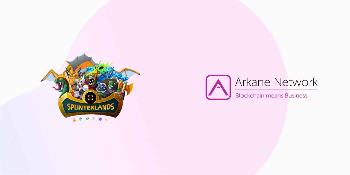 Splinterlands join forces with arkane network