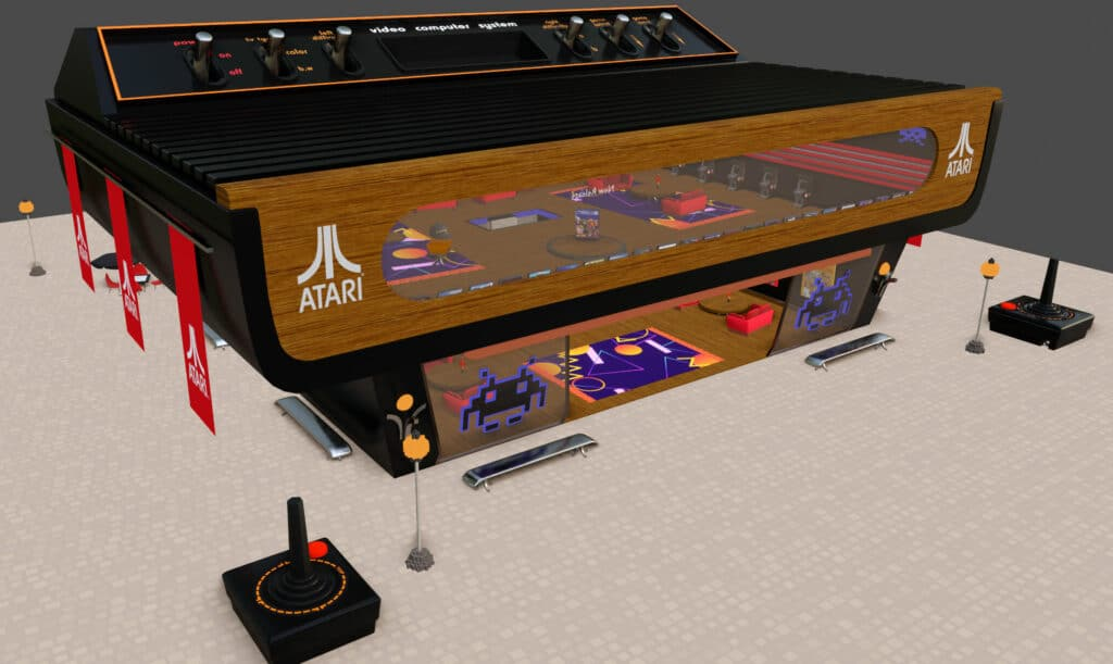 Atari and Decentraland Arcade