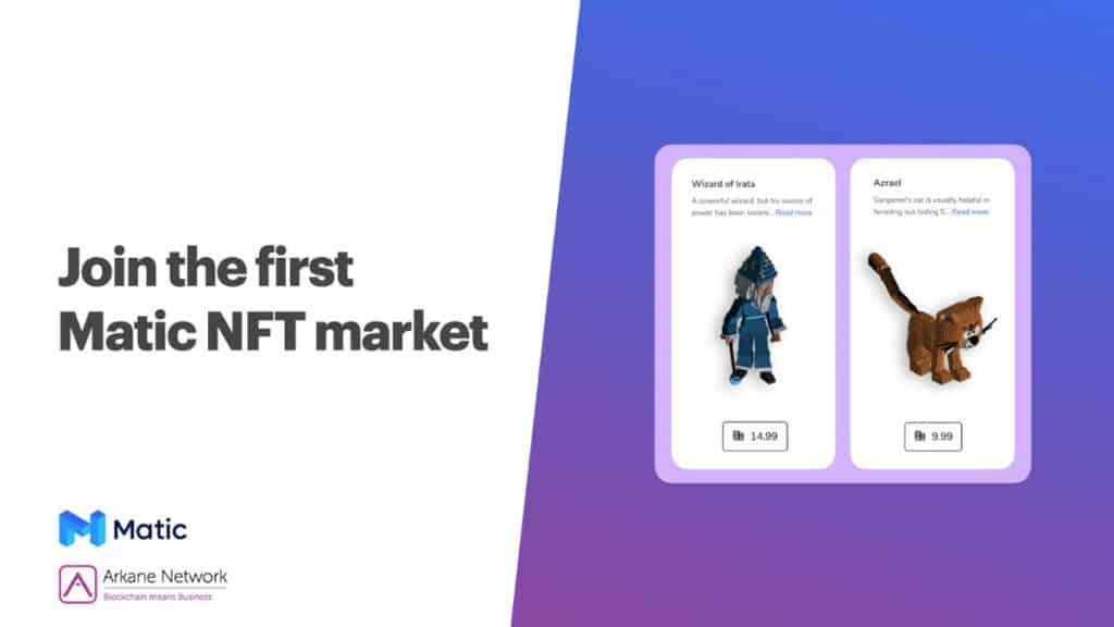 Matic NFT Marketplace
