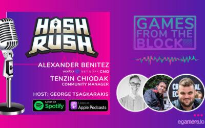GFTB: Talking Hash Rush With CMO Alexander Benitez & CM