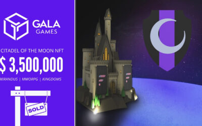 Flare Network Buys The Citadel of The Moon NFT for $3,5 Million