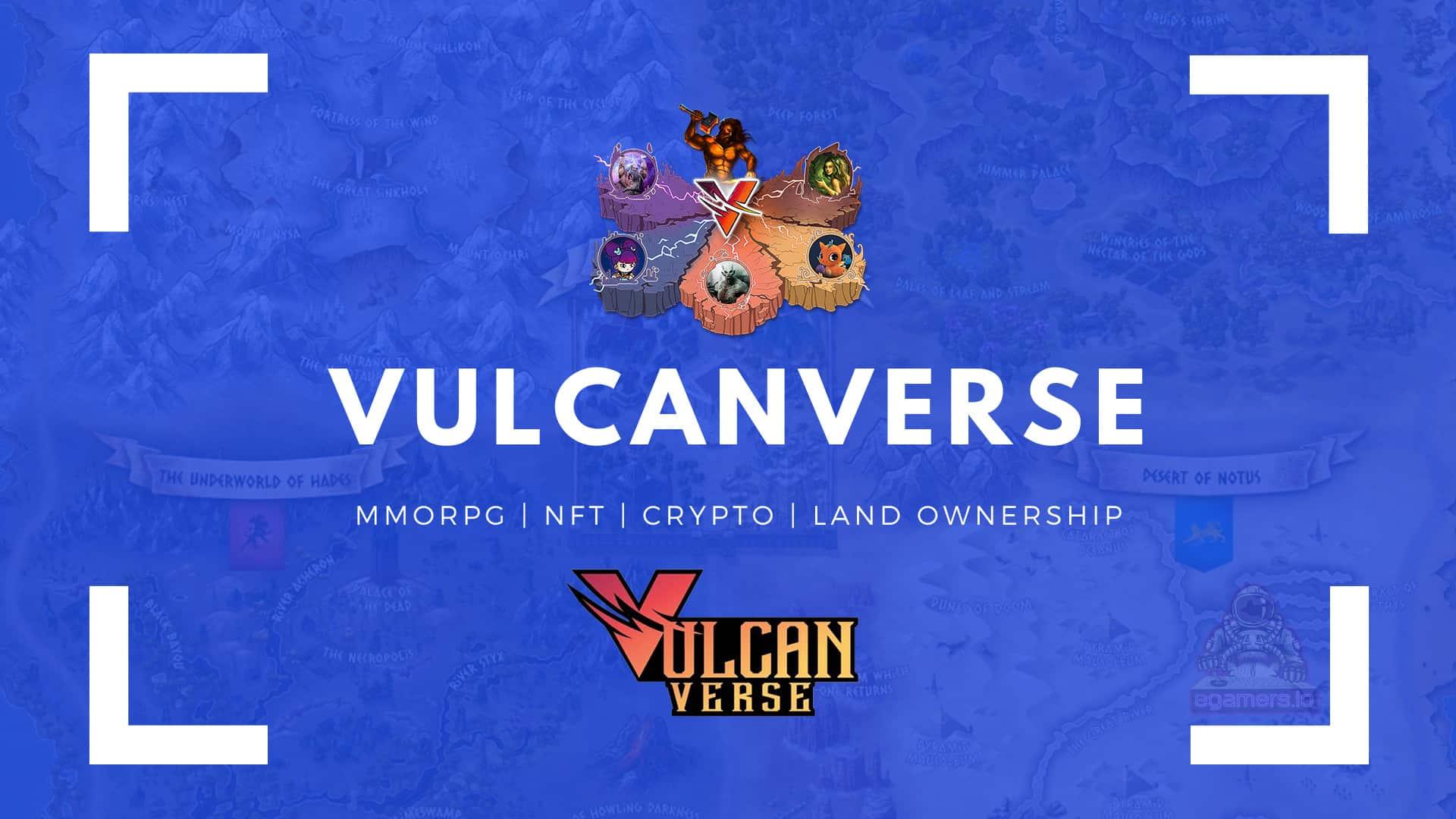 Vulcanverse MMORPG NFT Crypto Game.