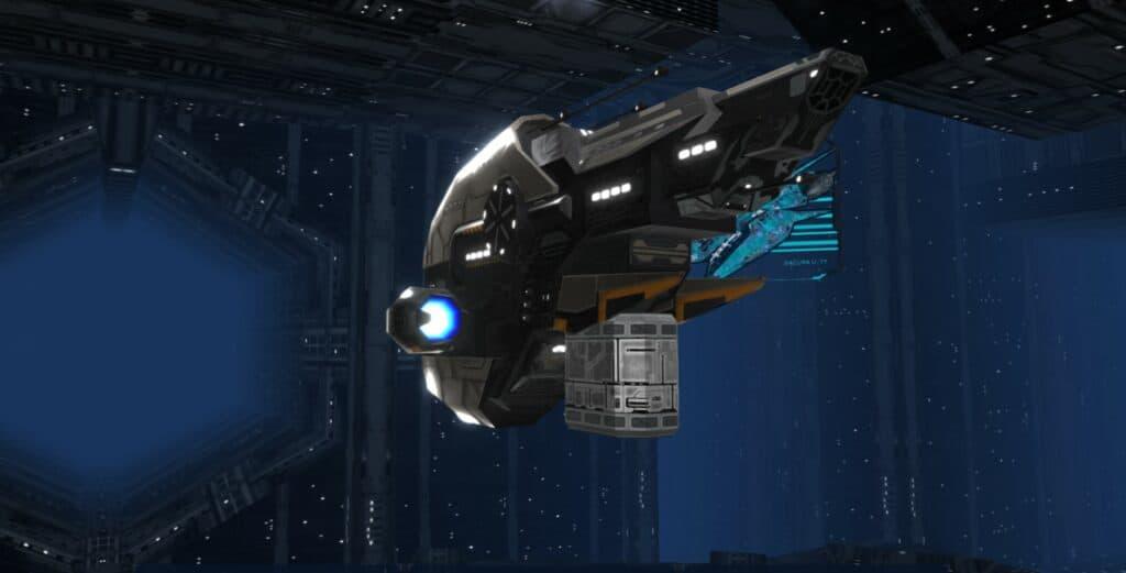 Farsite spacecraft.